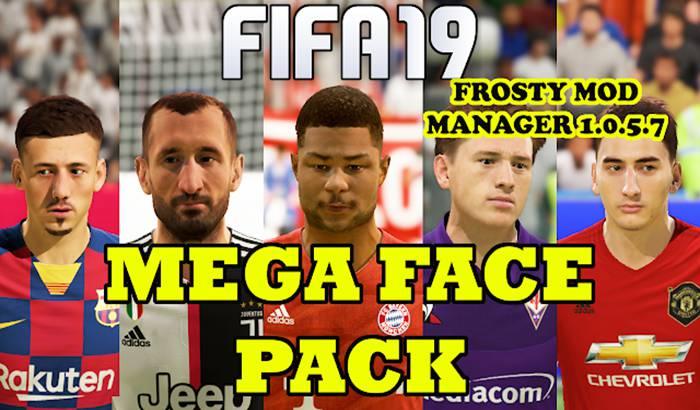 مگا فیس پک جدید برای FIFA 19