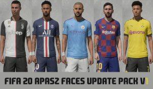 دانلود فیس پک APasZ V1 برای FIFA 20