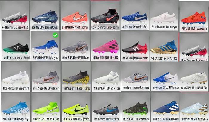 دانلود پک کفش V1.1 برای FIFA 20 توسط AdioszPL