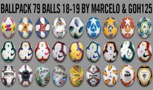 دانلود پک توپ برای PES 2013 فصل 2019/2020 توسط m4rcelo and Goh125