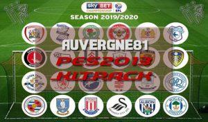 فول کیت پک EFL Championship 2020 برای PES 2013 توسط Auvergne81
