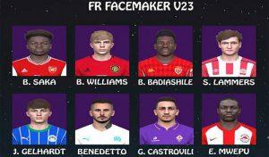 فیس پک V23 برای PES 2017 فصل 2020 توسط FR Facemaker