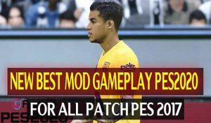 گیم پلی جدید PES 2020 برای PES 2017 توسط Dzplaylayz