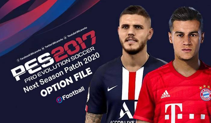دانلود پچ Next Season 2020 برای PES 2017 – پچ آپدیت فصل 2019/2020