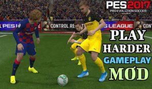 گیم پلی Harder برای PES 2017 (سخت تر شدن) توسط Parham