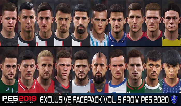 PES 2019 Exclusive Facepack V5