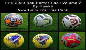 دانلود Ball Server Pack V2 برای PES 2020 توسط Hawke