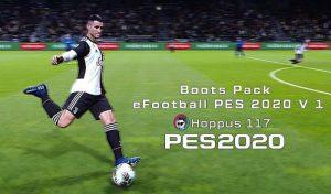 دانلود پک کفش V1 برای PES 2020 توسط Hoppus117