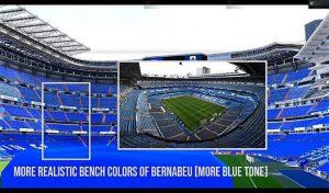 استادیوم Santiago Bernabeu برای PES 2020 توسط MJTS