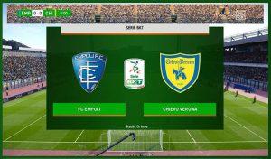 اسکوربورد SerieB BKT برای PES 2020