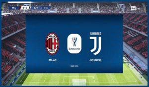 اسکوربورد Supercoppa Italiana برای PES 2020 توسط Unknown32