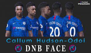 فیس Hudson-Odoi برای PES 2020 و PES 2019 توسط DNB Face