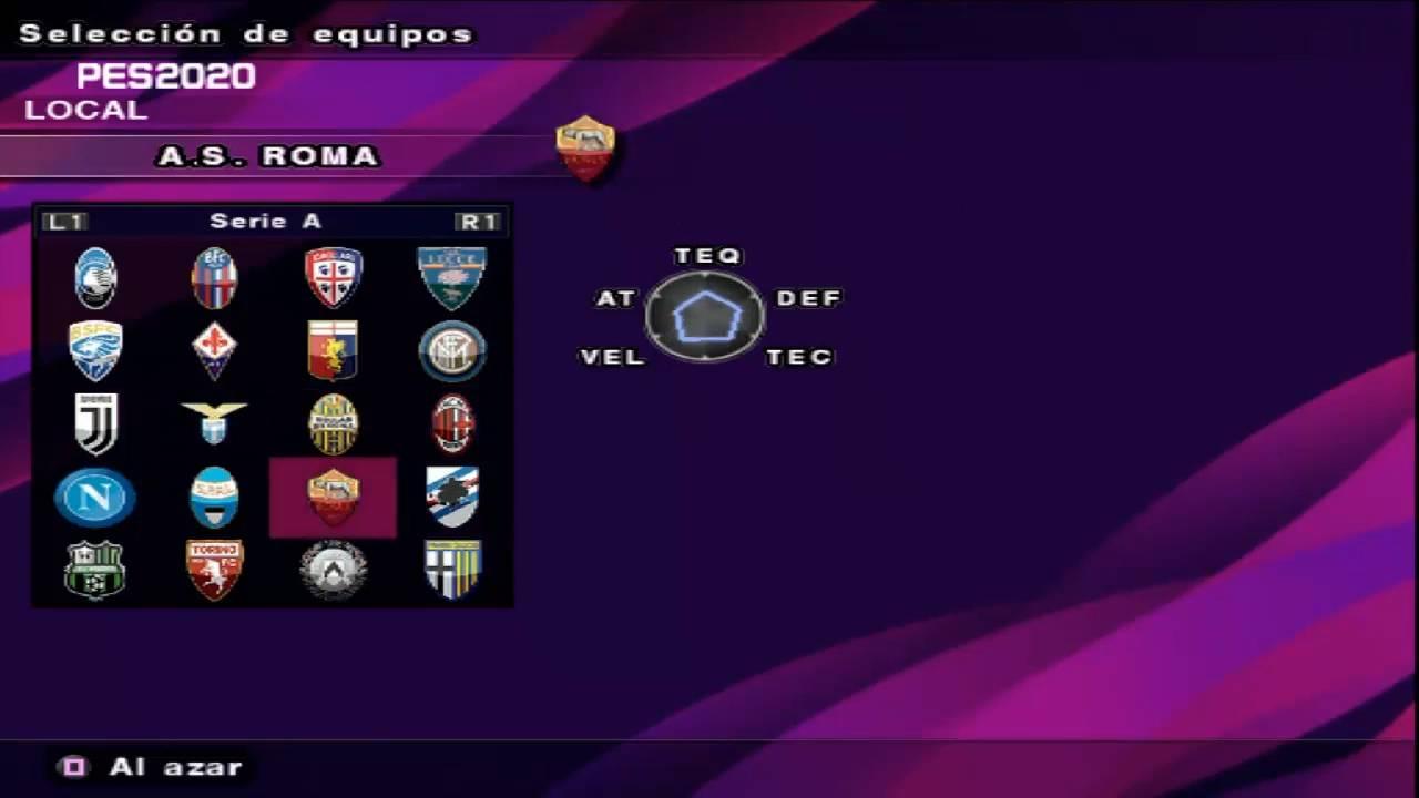 دانلود بازی PES 2020 برای PS2