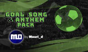 دانلود مود Goal Song & Anthem برای PES 2020 توسط Mauri d