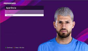 فیس جدید Sergio Agüero برای PES 2020 توسط Lucas