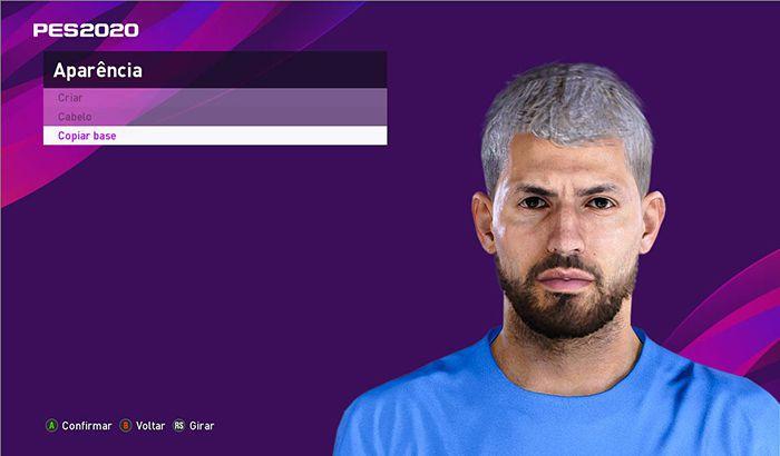 فیس جدید Sergio Agüero برای PES 2020
