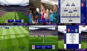 اسکوربورد NBCSN Premier League V2 برای PES 2020