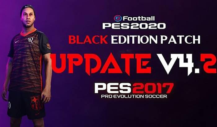 دانلود پچ Black Edition Patch 2019/2020 برای PES 2017 + آپدیت 4.2