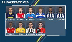 دانلود Facepack v26 برای PES 2017