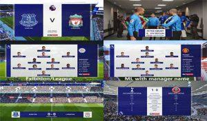 دانلود اسکوربورد Sky Sports EPL برای PES 2020