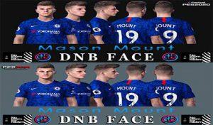 فیس Mason Mount برای PES 2020 و PES 2019 توسط DNB Face