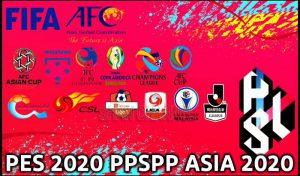 دانلود بازی PES 2020 Asian League برای PPSPP اندروید + لیگ ایران