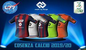 کیت Cosenza Calcio برای FIFA 16 ( فصل 2019/20 )
