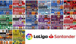 پک آپدیت بنر و پرچم تیم های لالیگا برای FIFA 20