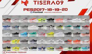دانلود پک کفش BootPack V17 برای PES 2017 توسط Tisera09