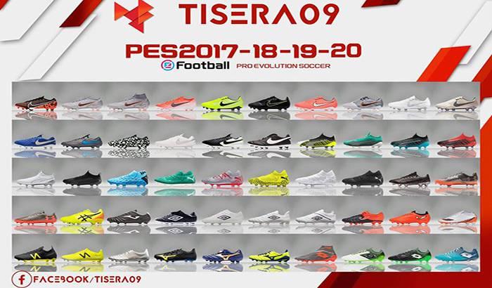دانلود پک کفش BootPack V12 برای PES 2018 توسط Tisera09