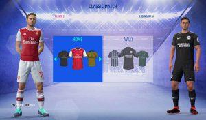 کیت پک لیگ انگلیس 2019/2020 برای FIFA 19 – ورژن 1