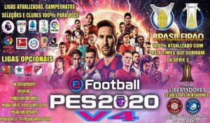 آپشن فایل Emerson Pereira V4 برای PES 2020 PS4 – بهترین آپشن فایل PS4