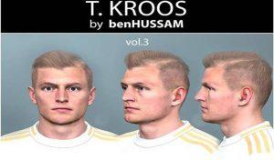 فیس Toni Kroos V3 برای PES 2017 فصل 2019/2020
