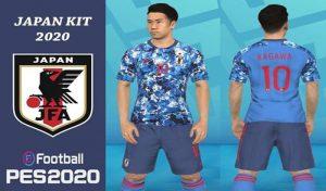 دانلود کیت ژاپن 2020 برای PES 2017 توسط FA Mod Pes