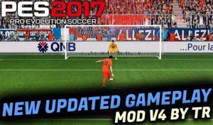 دانلود گیم پلی پچ جدید TR V4 برای PES 2017