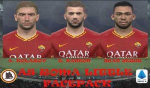 مینی فیس پک AS Roma برای PES 2017 فصل 2020