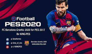 منو گرافیک بارسلونا PES 2020 برای PES 2017 توسط King PES