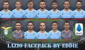 فیس پک Lazio 2019 برای PES 2017 توسط Eddie