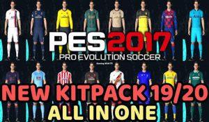 مگا کیت پک 2020 برای PES 2017 توسط TR