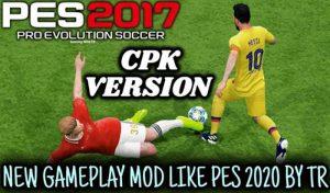 دانلود گیم پلی پچ PES 2020 برای PES 2017 توسط TR