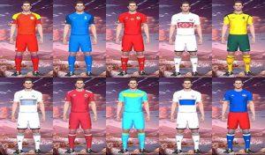 دانلود کیت پک Europa Team Kit 2020 برای PES 2017
