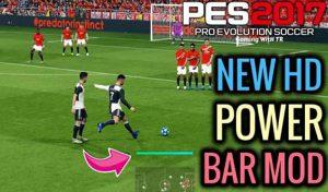 مود Power Bar جدید برای PES 2017 – شبیه PES 2020