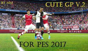 دانلود new CUTE Gameplay V2 برای PES 2017 توسط MM