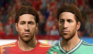 فیس Sergio Ramos برای FIFA 20 توسط Amiriowski