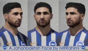 دانلود فیس علیرضا جهانبخش برای FIFA 20 توسط MRRahimi