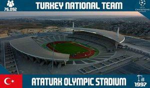 دانلود استادیوم Ataturk Olympic برای PES 2017