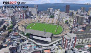 دانلود استادیوم Orlando Scarpelli برای PES 2017 + نمای بیرونی