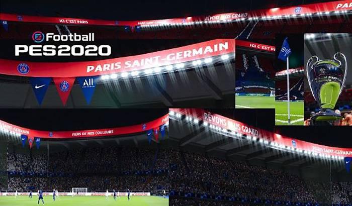استادیوم Parc des Princes برای PES 2020 - تیم PSG   مودینگ وی