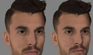 فیس Dani Ceballos برای FIFA 14 توسط Wlero