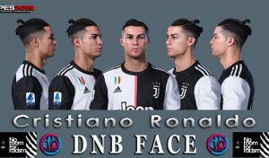 دانلود فیس Cristiano Ronaldo برای PES 2019 توسط DNB